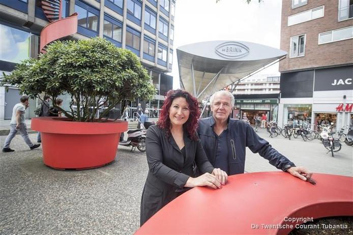Brigiet Schoemaker en Jos Rikkerink.