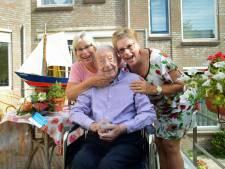 'Man van het water' Piet Warrens uit Zierikzee is 100 jaar
