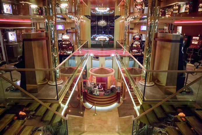 Het casino van Pierre de Jonge in Zevenbergen.
