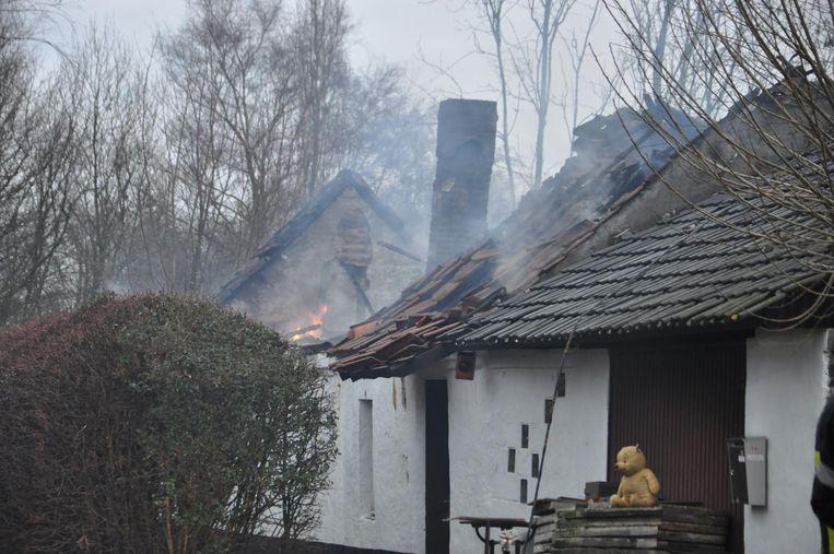 De schouwbrand zorgde voor heel wat schade.