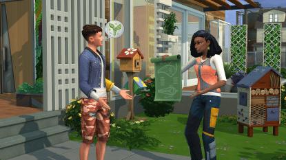 De Sims gaan Greta Thunberg achterna