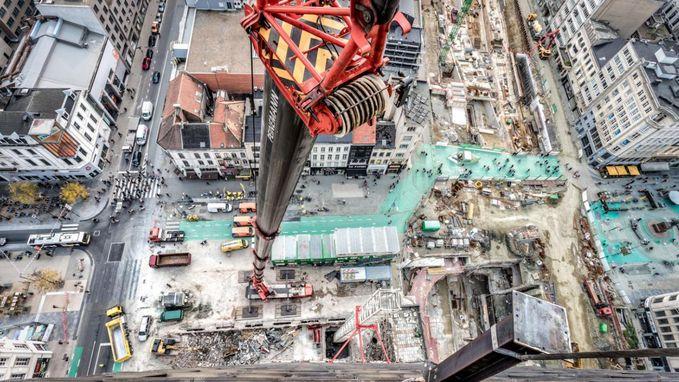 Duizelen vanop Antwerp Tower