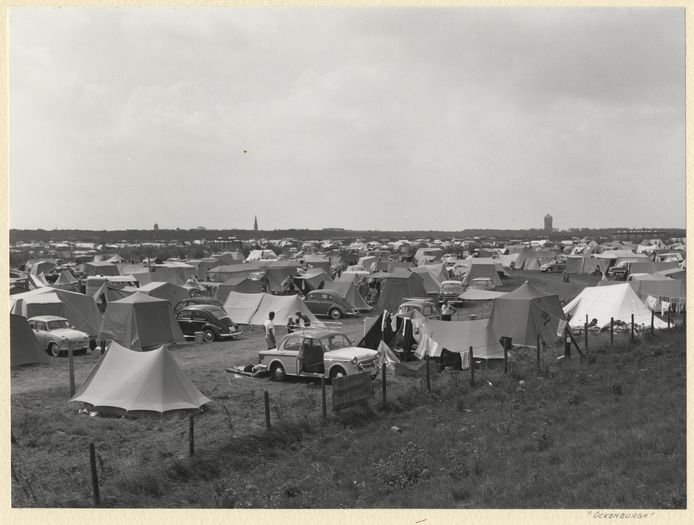 Camping Ockenburg in 1961.