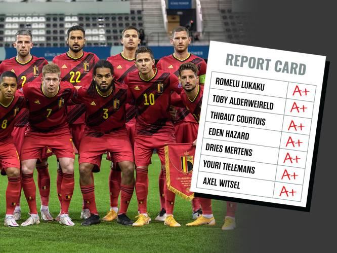 Onze Duivelse spelersrapporten sinds het WK onder de loep: Alderweireld koning van de 'zesjes', beste collectieve prestatie tegen Schotland