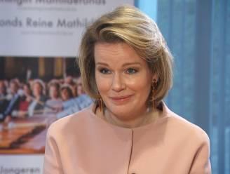 """Koningin Mathilde spreekt jongeren moed in: """"Geloof in jezelf"""""""