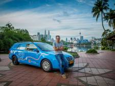 Après trois ans de route, il boucle son voyage autour du monde en voiture électrique