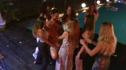 Het laatste feestje op 'Temptation' loopt helemaal uit de hand (in het mannenresort toch)