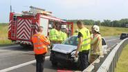 Twee ongevallen op klaverblad en E313