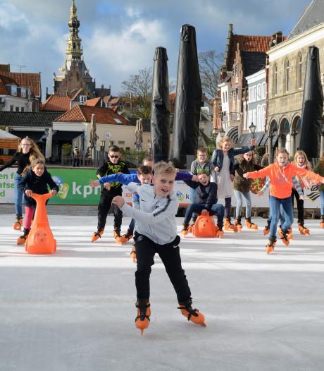 In Zierikzee kun je morgen gewoon nog schaatsen, zelfs al wordt het 25 graden