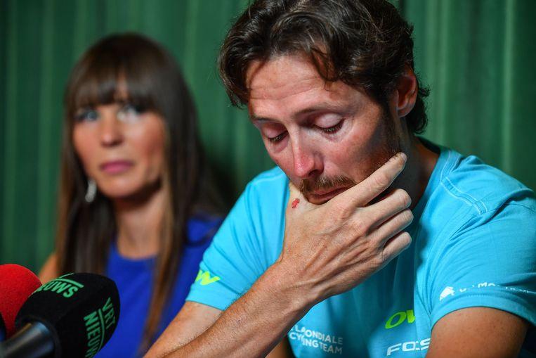 In juni 2016 kondigde Vansummeren met tranen in de ogen zijn afscheid van de wielersport aan.
