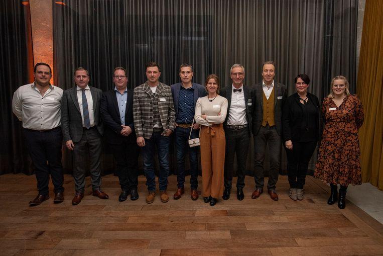De Stedelijke Raad voor Lokale Economie nodigde Poperingse ondernemingen uit om te klinken op het nieuwe jaar