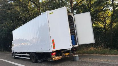 Alweer vrachtwagen vol drugsafval gevonden
