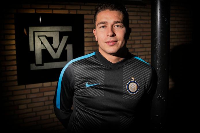 Toon van Lierop scoorde voor SPV in de topper tegen Odiliapeel.