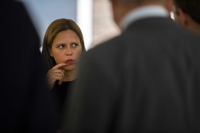 Maandagmiddag ontvouwde minister Schouten haar plannen voor 'kringlooplandbouw' in Den Haag voor een groep beleidsmakers en boeren.