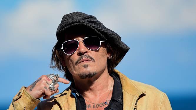 Johnny Depp neemt Poolse filmprijs vanachter de tralies in ontvangst