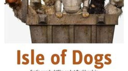 Openluchtfilm 'Isle of Dogs'