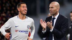 Eerst Zidane, dan Hazard: Real  heeft zich officieel gemeld bij Chelsea