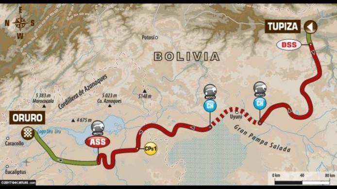 Dakar Rally stage 5