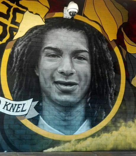 Graffitiportretten van te vroeg overleden NAC-spelers klaar in NAC-stadion