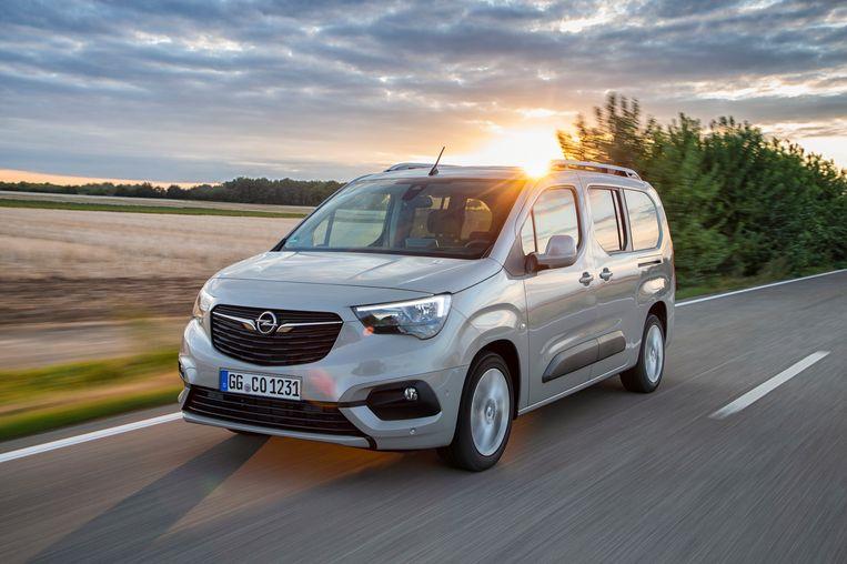 De Opel Combo Tour. Beeld