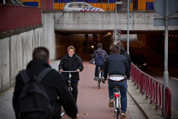 Door de Stationstunnel in Den Bosch rijden volgend jaar geen auto's meer.