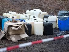 Drugsafval: badkuipen vol chemicaliën in de natuur... voor een feestpil