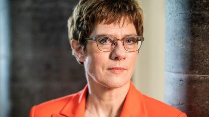 Duitse minister van Defensie wil internationale veiligheidszone in Syrië