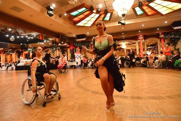 Aan de eerste editie van de Euregio Inclusive Dans in partycentrum Rouwhorst wordt 22 oktober onder meer deelgenomen door rolstoeldansers.