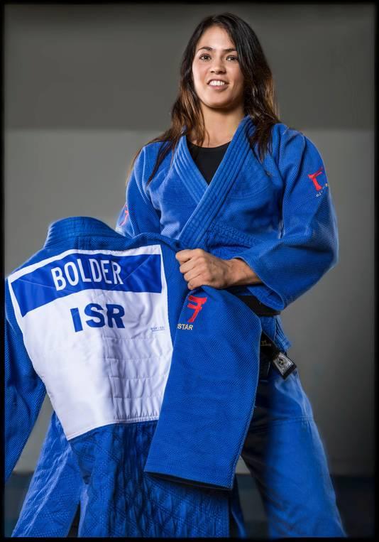 Judoka Linda Bolder die sinds 2015 voor Israel uitkwam.