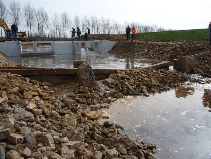 De vispassage bij Crèvecoeur werd vorig jaar opengesteld voor 'visverkeer' stroomopwaarts de Dieze op.