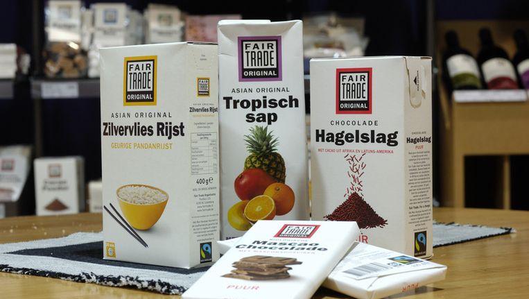 Max Havelaar-producten Beeld ANP