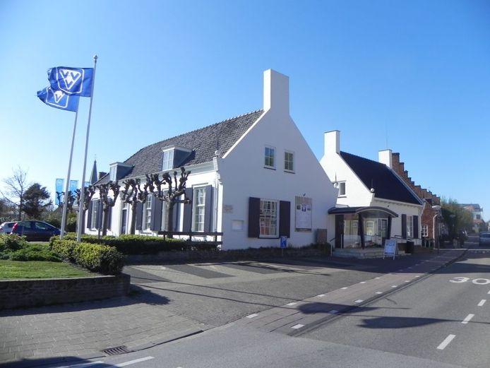 Het VVV-kantoor in Domburg