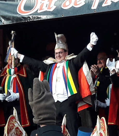 Broos Swinkels nieuwe prins van Keiebijters in Helmond