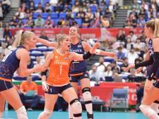 Volleybalsters spelen beslissend toernooi om ticket voor Spelen in Apeldoorn