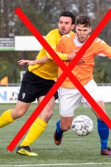 Veel wedstrijden van regionale clubs uitgesteld: 'Gezondheid gaat boven alles'