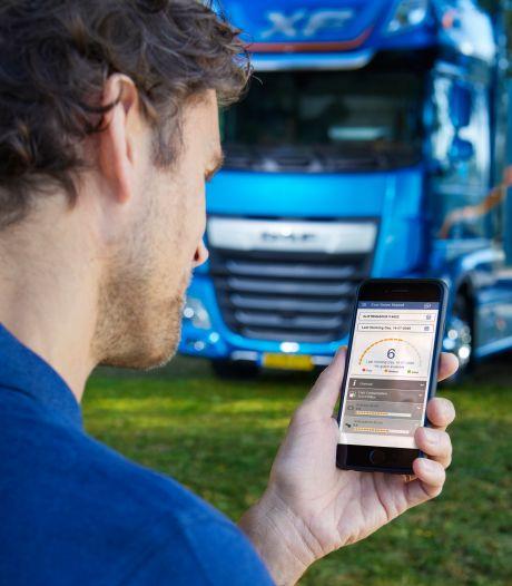 DAF lanceert app voor zuiniger rijgedrag truckchauffeur