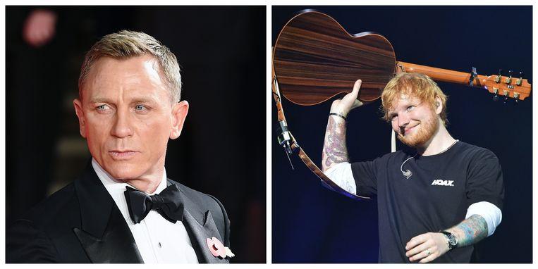 Daniel Craig wil dat Ed Sheeran het nieuwe titellied van James Bond gaat schrijven