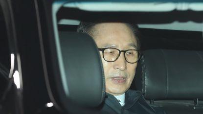 Zuid-Koreaanse ex-president Lee Myung-bak in de cel