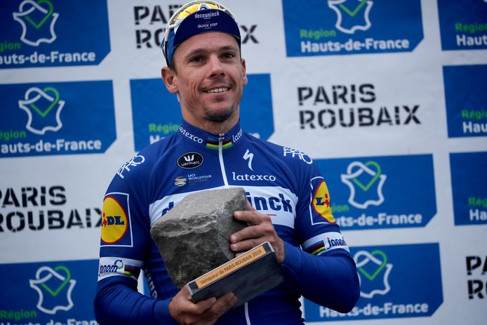 Philippe Gilbert won vorig jaar Parijs-Roubaix. Alleen Milaan - San Remo  ontbreekt nog op zijn erelijst van de vijf wielermonumenten.