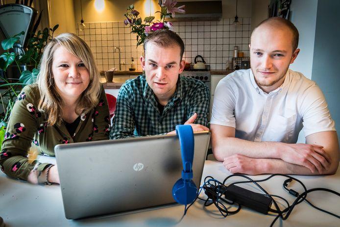 Cyril Hummel, Tom Morssink en Remy Kamp maken onderdeel uit van de leerkring eenzaamheid onder jongeren. Momenteel maken ze een podcast over het onderwerp.