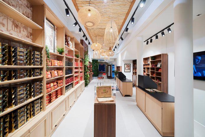 Le premier magasin Côte d'Or.