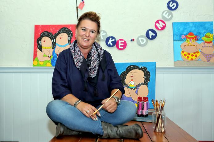Miranda van der Heijden wil de deelnemers vooral een leuke avond bezorgen in Hoogerheide.