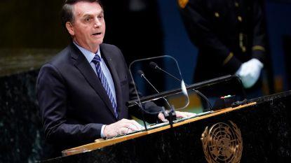 """Bolsonaro haalt uit naar critici over Amazonegebied: """"Het zijn niet de longen van de aarde"""""""