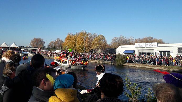 De intocht van Sinterklaas in Eindhoven (archieffoto).