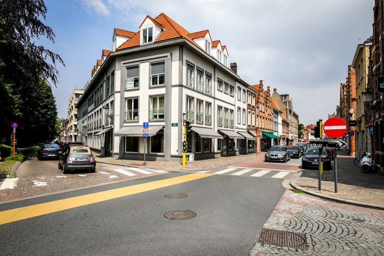 Vanuit de Smedenstraat geraak je nu vlotter het stadscentrum uit.
