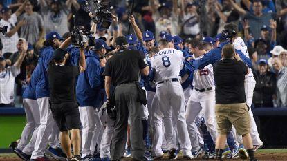 LA Dodgers winnen langste wedstrijd ooit in World Series: 7u20' en 18 innings
