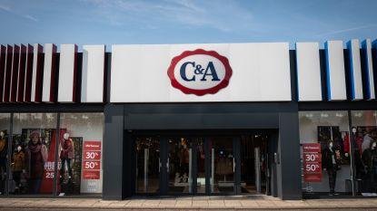 C&A sluit dertig winkels in Frankrijk