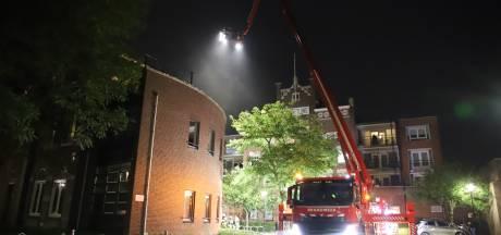 Brand in Tiels kantoorpand: bewoners moeten appartement uit