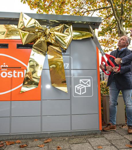 Eerste Zeeuwse pakketautomaat PostNL in Middelburg