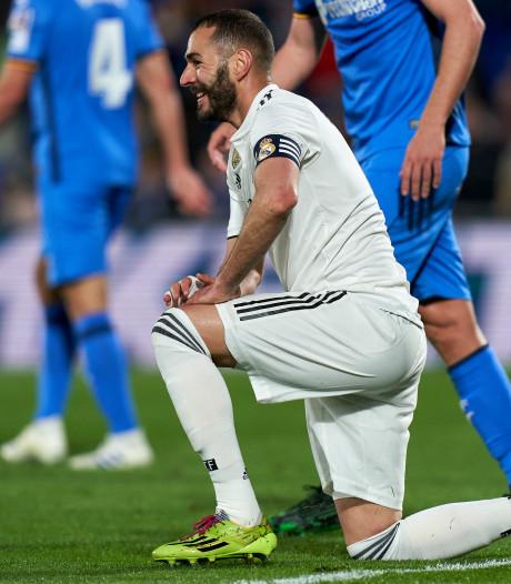 Stuntploeg Getafe houdt in eigen huis Real Madrid van scoren